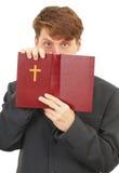 υπερασπίζει τα scriptures ιερέων στοκ εικόνα με δικαίωμα ελεύθερης χρήσης