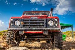 Υπερασπιστής του Land Rover Στοκ φωτογραφίες με δικαίωμα ελεύθερης χρήσης