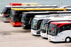 Υπεραστικά λεωφορεία Στοκ Φωτογραφία