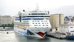 Υπερατλαντικό τερματικό επιβατών Στοκ Εικόνες