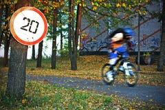 υπερβολική ταχύτητα Στοκ Φωτογραφία