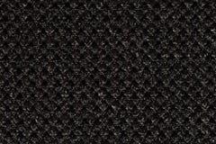 Υπερβολικός στενός επάνω σύστασης αντίθεσης μαύρος υλικός στοκ φωτογραφία με δικαίωμα ελεύθερης χρήσης