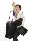 υπερβολικές αποσκευές Στοκ Φωτογραφία