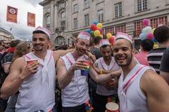 Υπερηφάνεια Λονδίνο 2016 LGBT Στοκ εικόνα με δικαίωμα ελεύθερης χρήσης