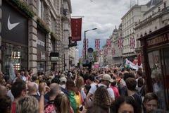 Υπερηφάνεια Λονδίνο 2016 LGBT Στοκ Φωτογραφίες