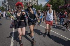 Υπερηφάνεια Λονδίνο 2016 LGBT Στοκ φωτογραφία με δικαίωμα ελεύθερης χρήσης