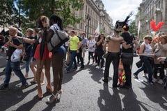 Υπερηφάνεια Λονδίνο 2016 LGBT Στοκ Φωτογραφία