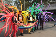 Υπερηφάνεια Μάρτιος σε Mumbai Στοκ φωτογραφία με δικαίωμα ελεύθερης χρήσης