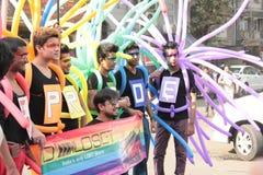 Υπερηφάνεια Μάρτιος σε Mumbai Στοκ Φωτογραφία