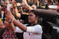 Υπερηφάνεια Μάρτιος σε Mumbai Στοκ εικόνα με δικαίωμα ελεύθερης χρήσης