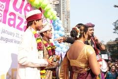 Υπερηφάνεια Μάρτιος στην Ινδία Στοκ εικόνα με δικαίωμα ελεύθερης χρήσης
