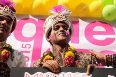 Υπερηφάνεια Μάρτιος στην Ινδία Στοκ Εικόνες