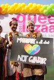 Υπερηφάνεια Μάρτιος στην Ινδία Στοκ φωτογραφία με δικαίωμα ελεύθερης χρήσης
