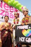 Υπερηφάνεια Μάρτιος στην Ινδία Στοκ εικόνες με δικαίωμα ελεύθερης χρήσης