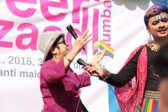 Υπερηφάνεια Μάρτιος LGBT σε Mumbai Στοκ εικόνα με δικαίωμα ελεύθερης χρήσης