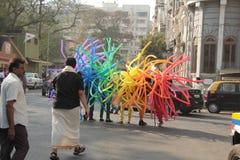 Υπερηφάνεια Μάρτιος Mumbai Στοκ Εικόνες