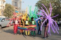 Υπερηφάνεια Μάρτιος Mumbai Στοκ φωτογραφία με δικαίωμα ελεύθερης χρήσης