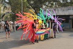 Υπερηφάνεια Μάρτιος Mumbai Στοκ εικόνες με δικαίωμα ελεύθερης χρήσης