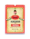 Υπερηφάνεια της ουγγρικής γλυκιάς πάπρικας Szeged στοκ εικόνες