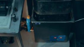 Υπερηχητικός στροβιλοσυμπιεστής πλύσης φιλμ μικρού μήκους