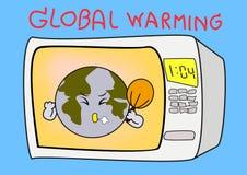 Υπερθέρμανση του πλανήτη Στοκ Εικόνες