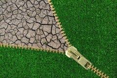 Υπερθέρμανση του πλανήτη. Στοκ φωτογραφία με δικαίωμα ελεύθερης χρήσης