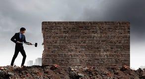Υπερνίκηση των προκλήσεων Στοκ φωτογραφίες με δικαίωμα ελεύθερης χρήσης