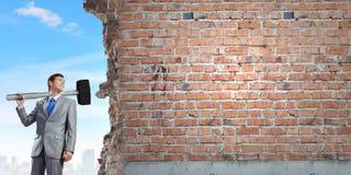 Υπερνίκηση των προκλήσεων Στοκ φωτογραφία με δικαίωμα ελεύθερης χρήσης
