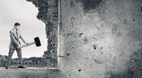 Υπερνίκηση των προκλήσεων Στοκ Φωτογραφία