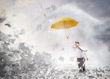 Υπερνικήστε τη γραφειοκρατία διανυσματική απεικόνιση