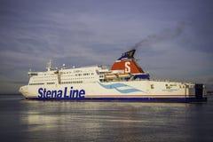 Υπερταχύ πορθμείο της Stena Line Στοκ Εικόνες