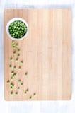 Υπερυψωμένη άποψη του λαχανικού στον ξύλινο πίνακα Στοκ Φωτογραφίες
