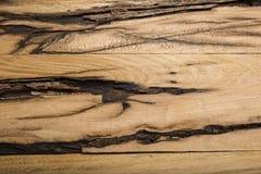 Υπερυψωμένη άποψη του παλαιού ανοικτό καφέ ξύλινου υποβάθρου Στοκ Εικόνες