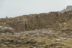 Υπερυψωμένο μονοπάτι γίγαντα - Βόρεια Ιρλανδία Στοκ Εικόνα