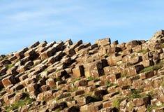 Υπερυψωμένο μονοπάτι γιγάντων, Ιρλανδία Στοκ Εικόνα
