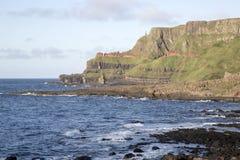 Υπερυψωμένο μονοπάτι γιγάντων  Κομητεία Antrim  Βόρεια Ιρλανδία Στοκ Εικόνες