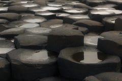 Υπερυψωμένο μονοπάτι γιγάντων της Βόρειας Ιρλανδίας Στοκ Εικόνες