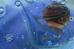 Υπερφυσικά έλαιο και νερό μακρινού διαστήματος Στοκ φωτογραφία με δικαίωμα ελεύθερης χρήσης