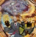 Υπερφυσική συμβολική περίληψη Στοκ εικόνα με δικαίωμα ελεύθερης χρήσης