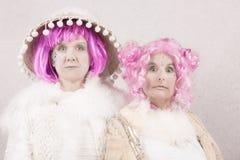 Υπερφυσικοί θηλυκοί χαρακτήρες Στοκ εικόνες με δικαίωμα ελεύθερης χρήσης