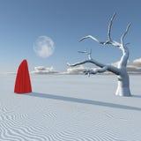 Υπερφυσικός αριθμός στην έρημο Στοκ φωτογραφία με δικαίωμα ελεύθερης χρήσης