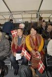 ΥΠΗΚΟΟΤΗΤΑ CELEBRATION_CITIZEN CELEBRATERS Στοκ εικόνα με δικαίωμα ελεύθερης χρήσης
