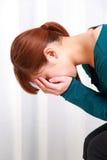 λυπημένη γυναίκα Στοκ φωτογραφίες με δικαίωμα ελεύθερης χρήσης