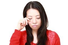 λυπημένη γυναίκα στοκ φωτογραφία με δικαίωμα ελεύθερης χρήσης