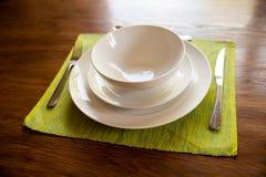 Υπηρεσία γευμάτων Στοκ Φωτογραφίες