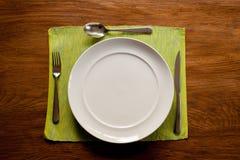 Υπηρεσία γευμάτων Στοκ Εικόνες