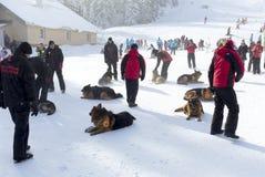 Υπηρεσία διάσωσης βουνών Στοκ φωτογραφίες με δικαίωμα ελεύθερης χρήσης