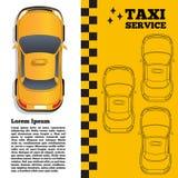 Υπηρεσία ταξί Στοκ φωτογραφίες με δικαίωμα ελεύθερης χρήσης