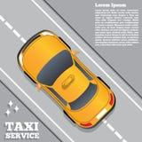 Υπηρεσία ταξί Στοκ Φωτογραφίες