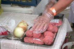 υπηρεσία τροφίμων Στοκ Φωτογραφίες